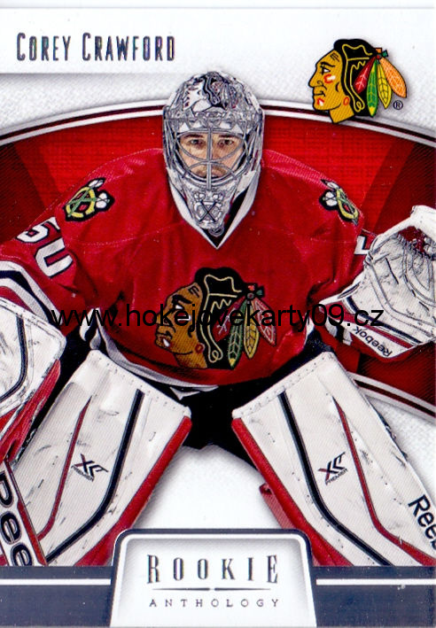2013-14 Rookie Anthology - Corey CRAWFORD č. 18