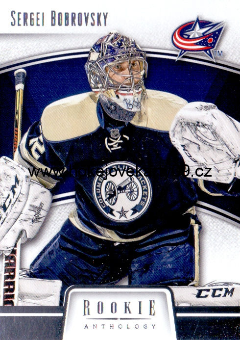 2013-14 Rookie Anthology - Sergei BOBROVSKY č. 25