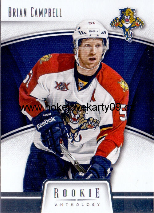 2013-14 Rookie Anthology - Brian CAMPBELL č. 39