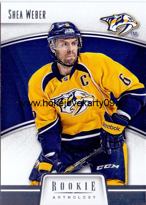 2013-14 Rookie Anthology - Shea WEBER č. 54