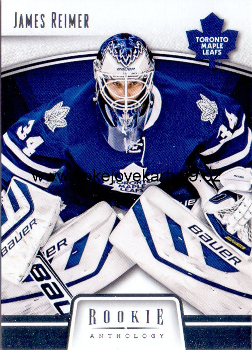 2013-14 Rookie Anthology - James REIMER č. 91