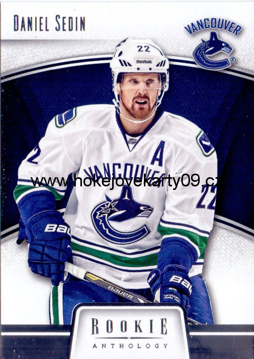 2013-14 Rookie Anthology - Daniel SEDIN č. 93