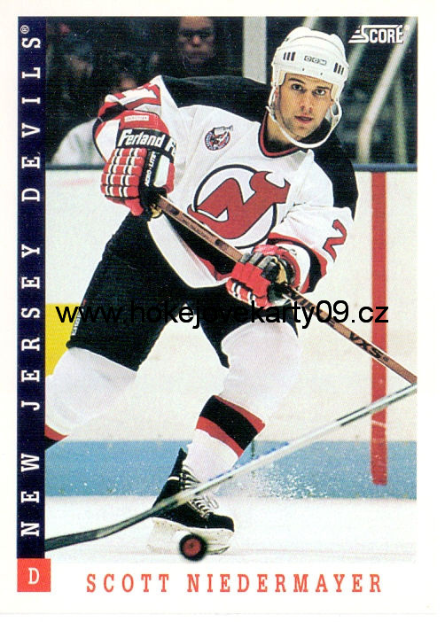 1993-94 Score - Scott NIEDERMAYER č. 217