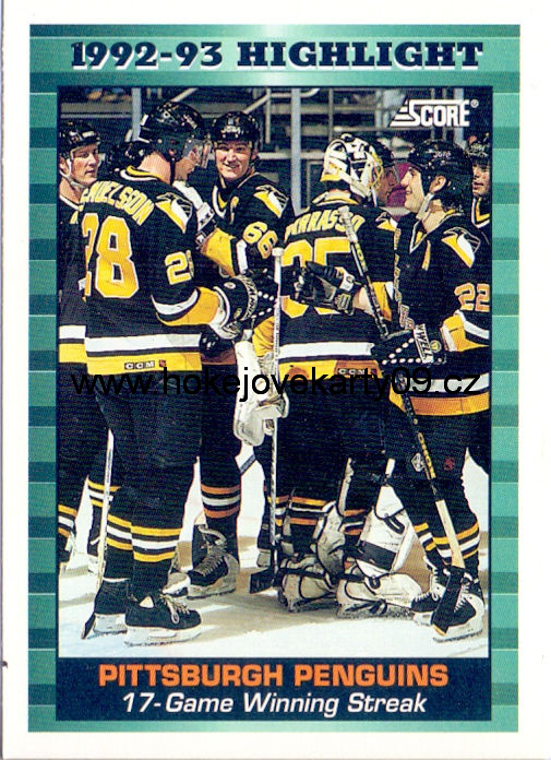 1993-94 Score - Pittsburgh Penguins č. 452