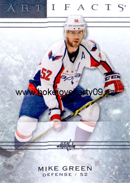 2014-15 Artifacts - Mike GREEN č. 19
