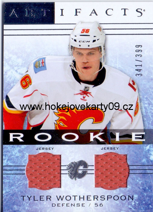 2014-15 Artifacts - Tyler WOTHERSPOON č. 149 (RC) Jersey