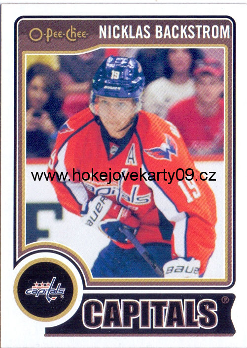 2014-15 OPC - Nicklas BACKSTROM č. 202