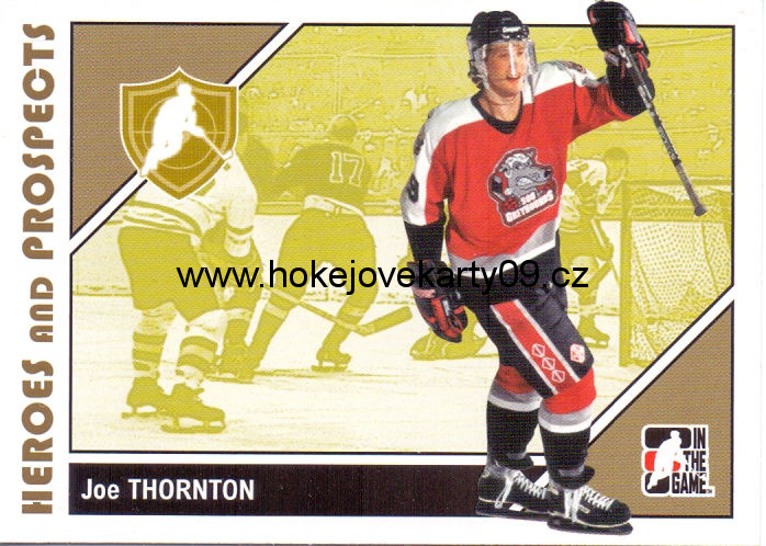 2007-08 Heroes & Prospects - Joe THORNTON č. 9