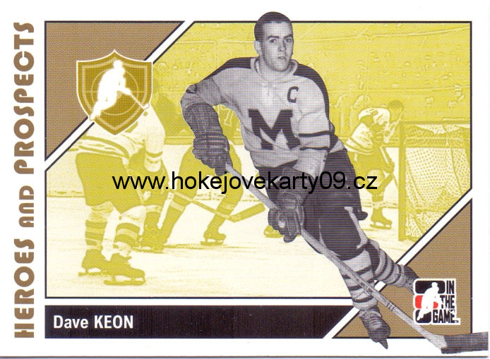 2007-08 Heroes & Prospects - Dave KEON č. 11