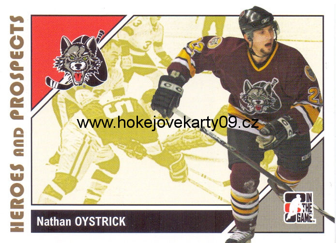 2007-08 Heroes & Prospects - Nathan OYSTRICK č. 20