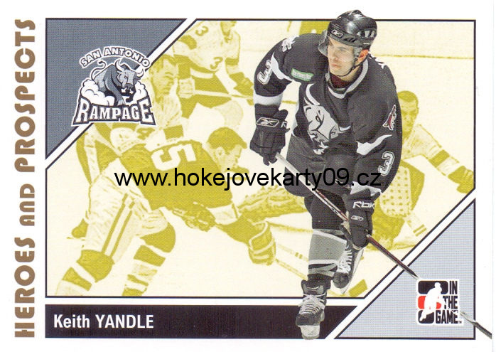 2007-08 Heroes & Prospects - Keith YANDLE č. 28