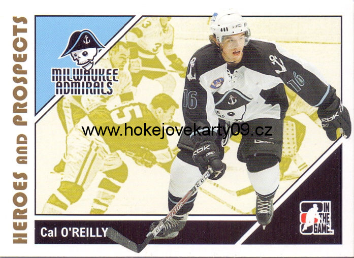 2007-08 Heroes & Prospects - Cal O'REILLY č. 31