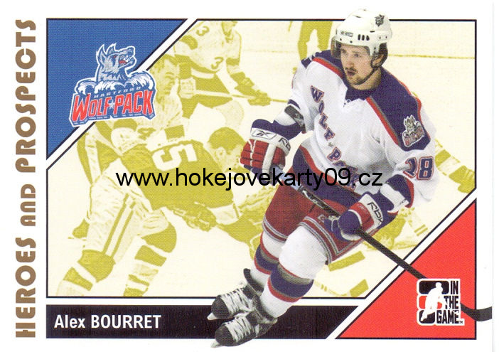 2007-08 Heroes & Prospects - Alex BOURRET č. 36
