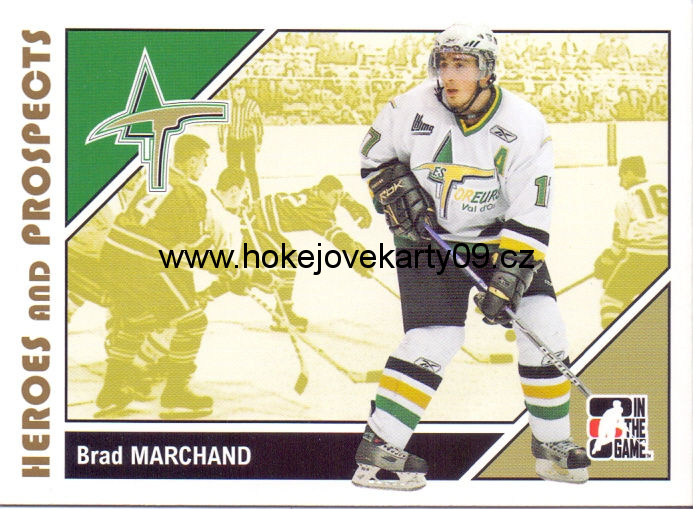 2007-08 Heroes & Prospects - Brad MARCHAND č. 54
