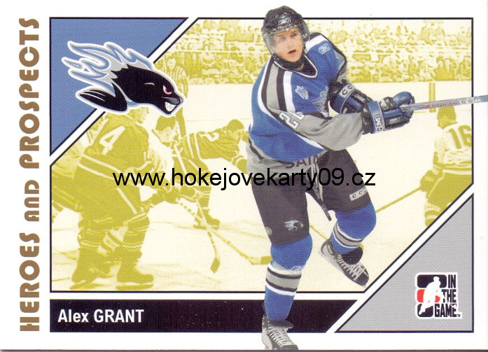 2007-08 Heroes & Prospects - Alex GRANT č. 55