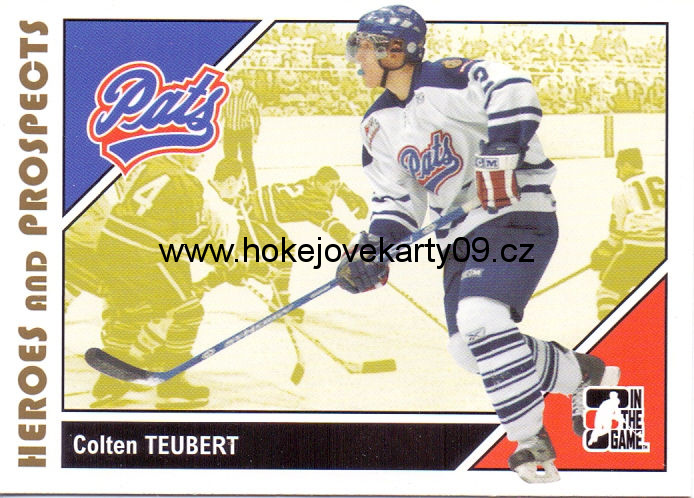 2007-08 Heroes & Prospects - Colton TEUBERT č. 57