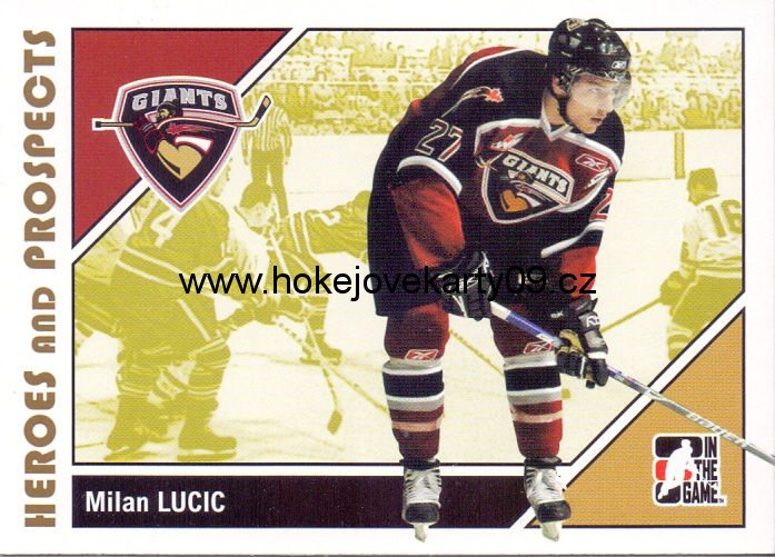 2007-08 Heroes & Prospects - Milan LUCIC č. 61