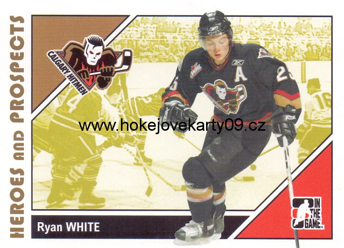 2007-08 Heroes & Prospects - Ryan WHITE č. 68