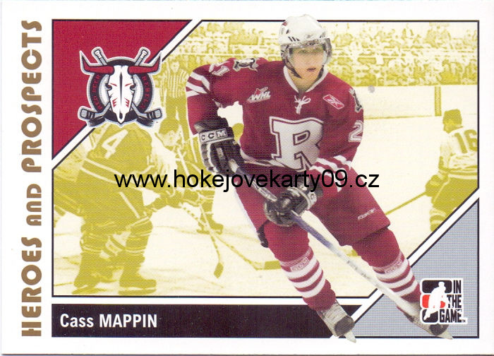 2007-08 Heroes & Prospects - Cass MAPPIN č. 69