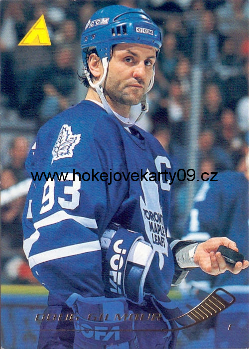 1995-96 Pinnacle - Doug GILMOUR č. 61