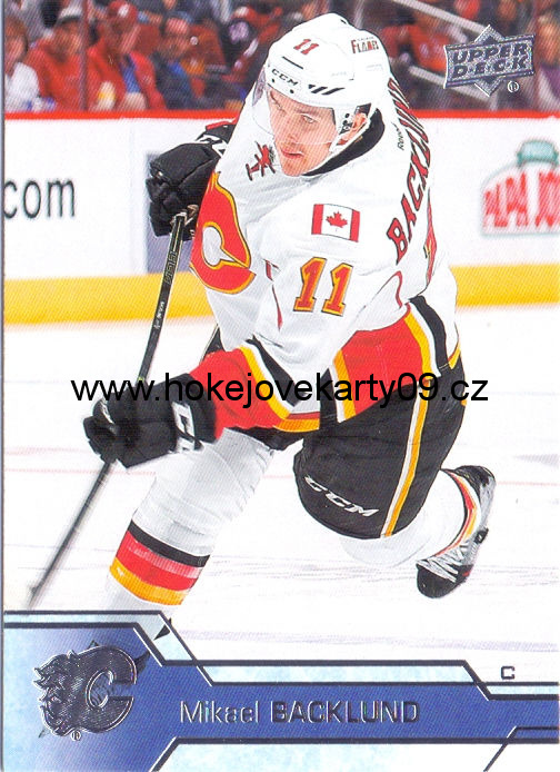 2016-17 Upper Deck - Mikael BACKLUND č. 30