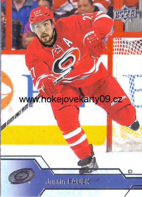 2016-17 Upper Deck - Justin FAULK č. 37