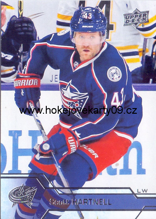2016-17 Upper Deck - Scott HARTNELL č. 58