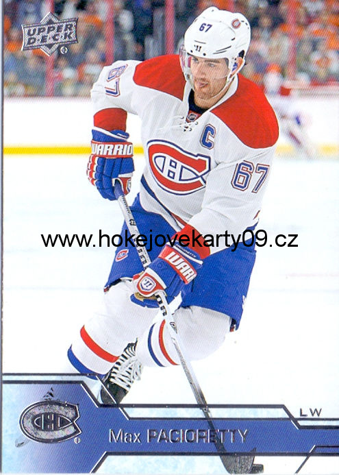 2016-17 Upper Deck - Max PACIORETTY č. 103