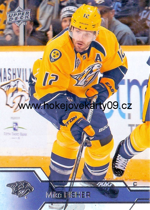 2016-17 Upper Deck - Mike FISHER č. 108