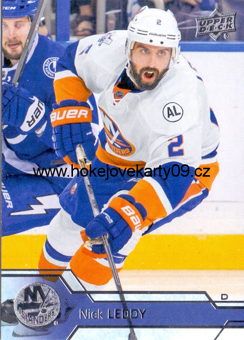 2016-17 Upper Deck - Nick LEDDY č. 122