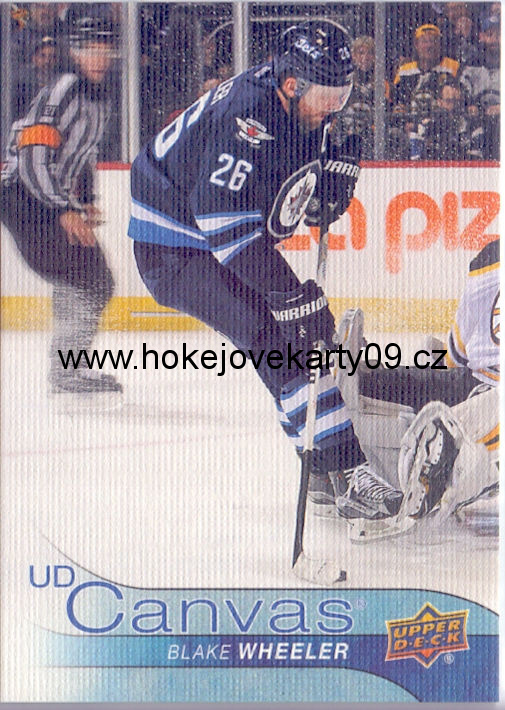 16-17 Upper Deck - Blake WHEELER č. C207