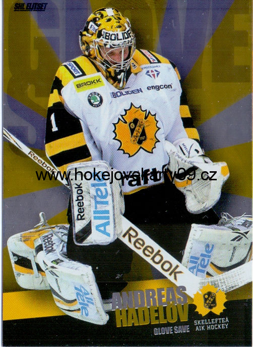11-12 SHL - Andreas HADELOV č. 9 of 10
