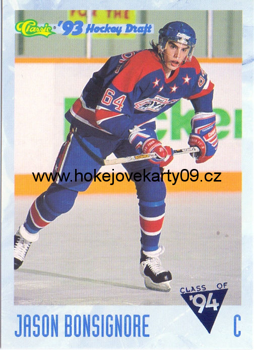 93-94 Classic Draft - Jason BONSIGNORE č. 99