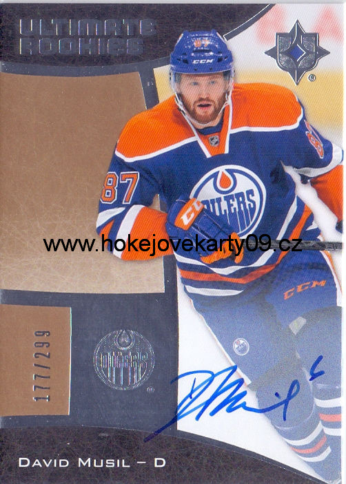15-16 Ultimate Collection - David MUSIL č. 76 Autographed