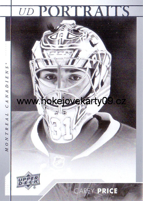 17-18 Upper Deck - Carey PRICE č. P-46