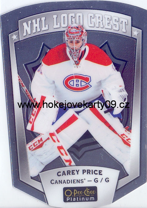 16-17 OPC Platinum - Carey PRICE č. NHLLD-15