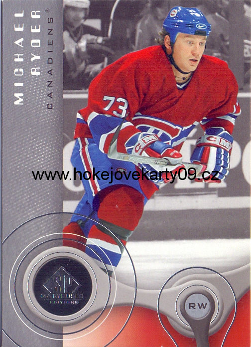 05-06 SP Game Used - Michael RYDER č. 53