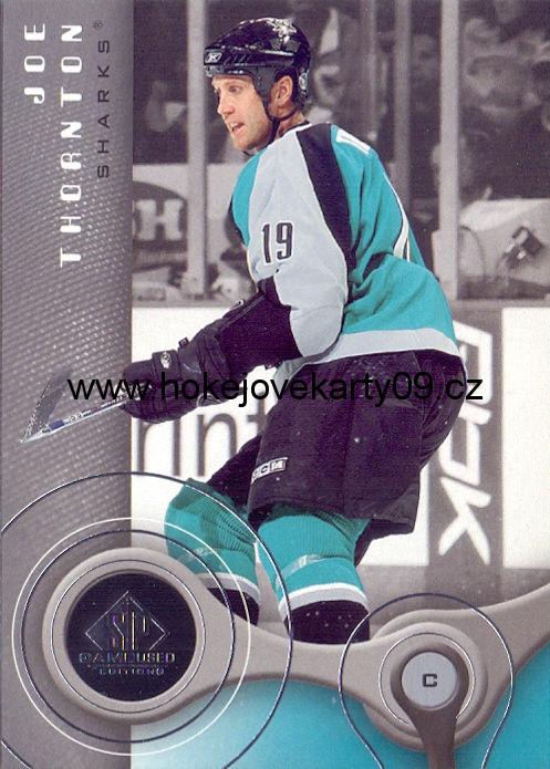 05-06 SP Game Used - Joe THORNTON č. 81