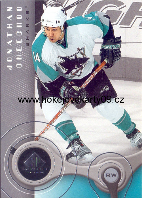 05-06 SP Game Used - Jonathan CHEECHOO č. 82
