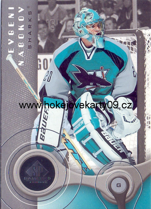 05-06 SP Game Used - Evgeni NABOKOV č. 83