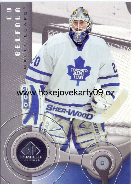 05-06 SP Game Used - Ed BELFOUR č. 92