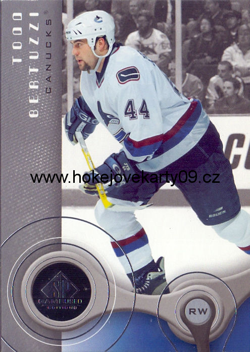 05-06 SP Game Used - Todd BERTUZZI č. 98