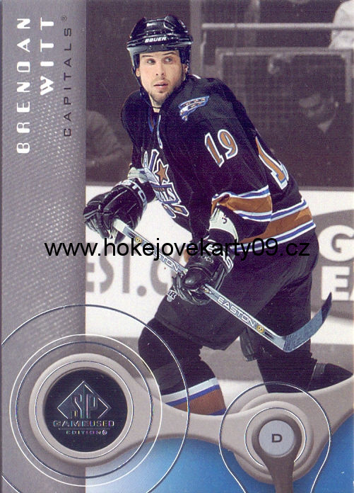 05-06 SP Game Used - Brendan WITT č. 100