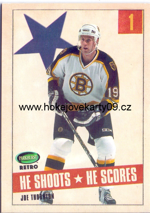 02-03 Parkhurst Retro - Joe THORNTON
