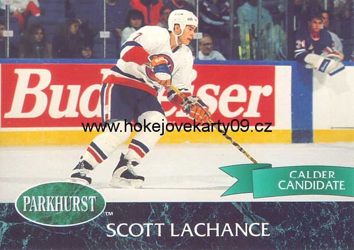92-93 Parkhurst - Scott LACHANCE č. 105