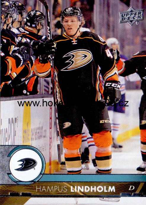 17-18 Upper Deck - Hampus LINDHOLM č. 1