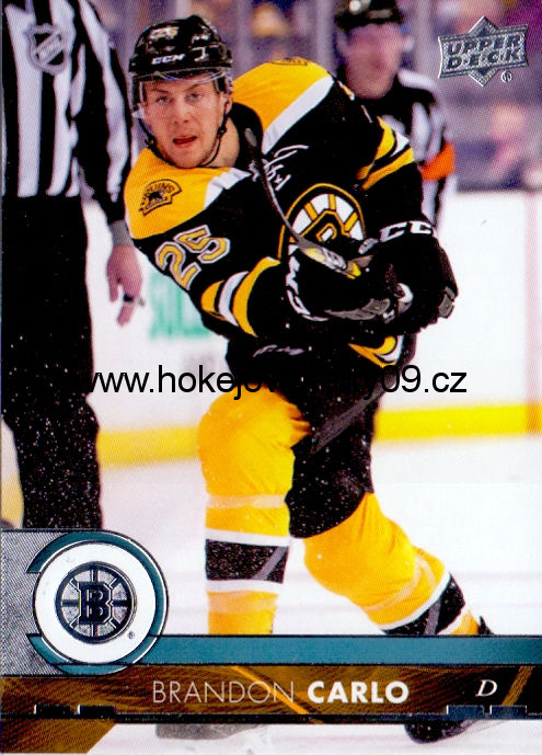 17-18 Upper Deck - Brandon CARLO č. 14