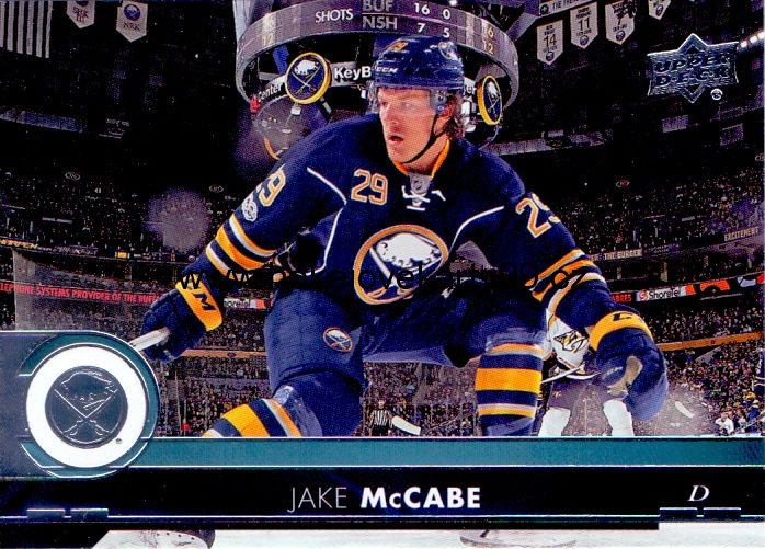 17-18 Upper Deck - Jake McCABE č. 20