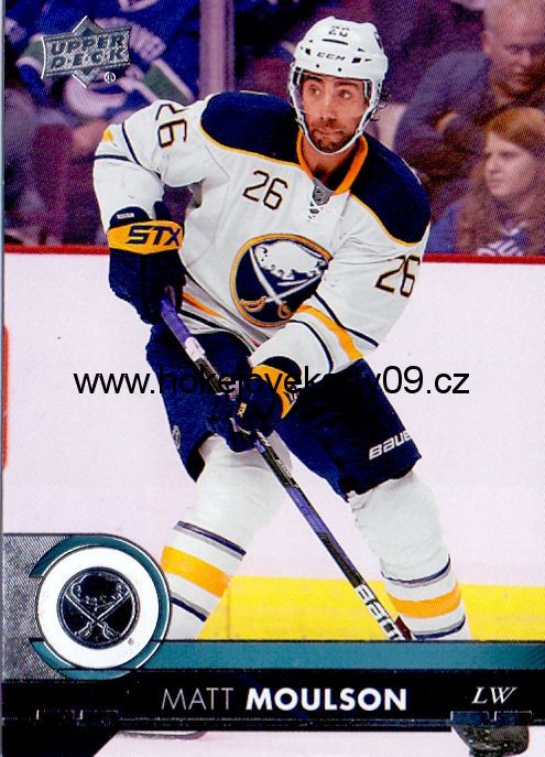 17-18 Upper Deck - Matt MOULSON č. 22