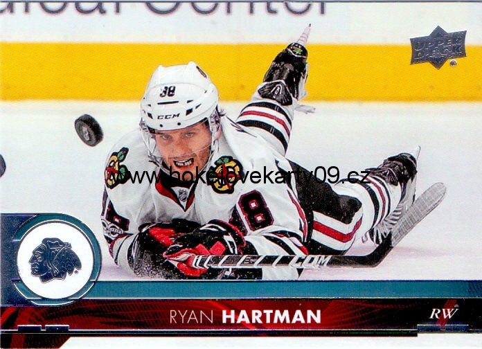 17-18 Upper Deck - Ryan HARTMAN č. 44
